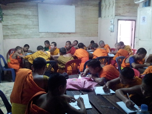 Novice classroom (L.Holt, 2013)